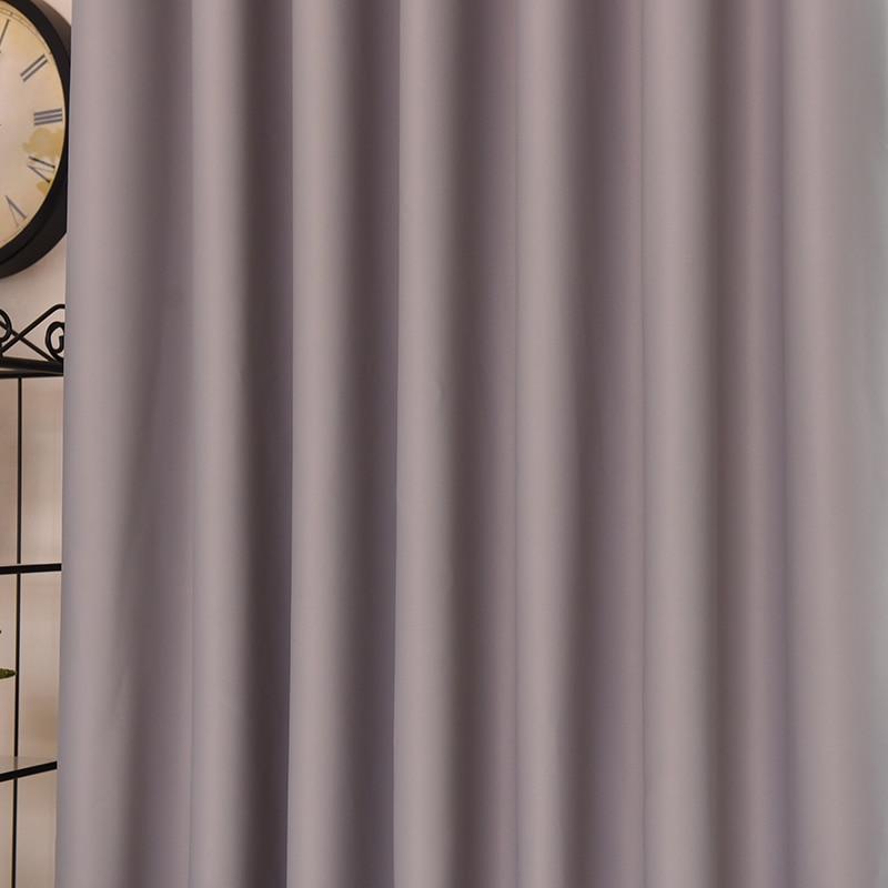 Aliexpress Japan Stil Blackout Vorhnge Fr Schlafzimmer Fenster Wohnzimmer Grau Feste Jalousien Nach Mass Von Verlsslichen