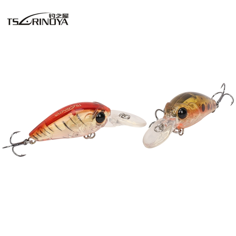 Free shipping Trulinoya fishing lure mini crank bait artificial 35mm 3.8g hard baits minnow lures crankbait carp fishing tackle trulinoya minnow fishing lures 80mm 8g hard bait carp fishing bass lure swimbait sea fishing isca artificial fly fishing tackle
