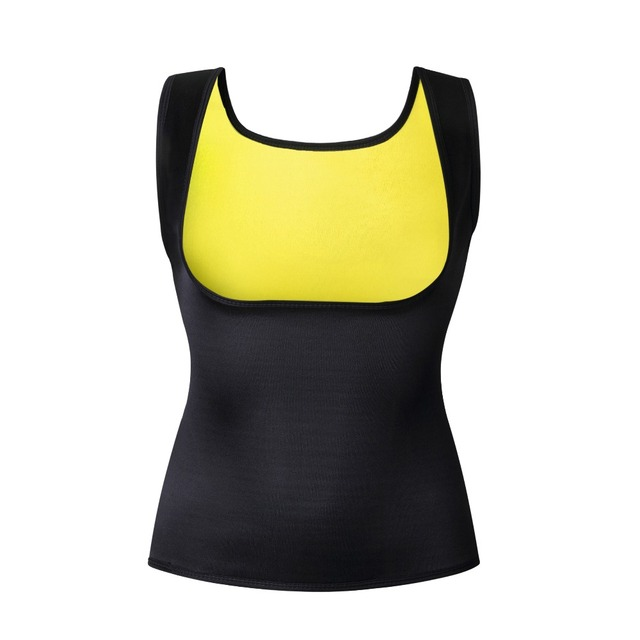 36d98b125cfd3 Dropshipping Fitness Running Vest Corsets Women Slimming Tank Top Sport Waist  Trainer Neoprene Fat Burning Body Shaper
