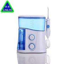 LINLIN hilo Dental Original de agua, flotador bucal, irrigador Dental, cuidado bucal, cuidado Dental, juego de limpiador Dental Oral