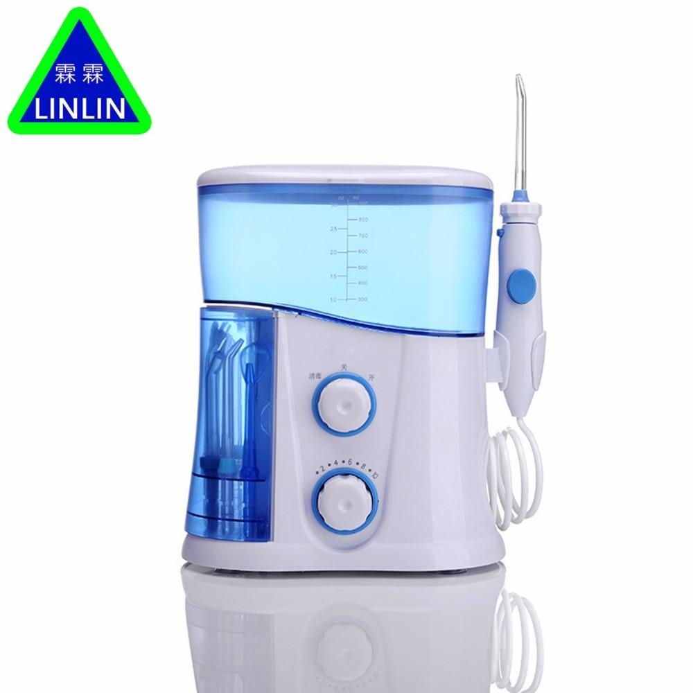Linlin оригинальная зубная нить водный для рта Flosser Стоматологический Ирригатор уход гигиена полости рта Уход зубная нить очиститель зубов полости рта