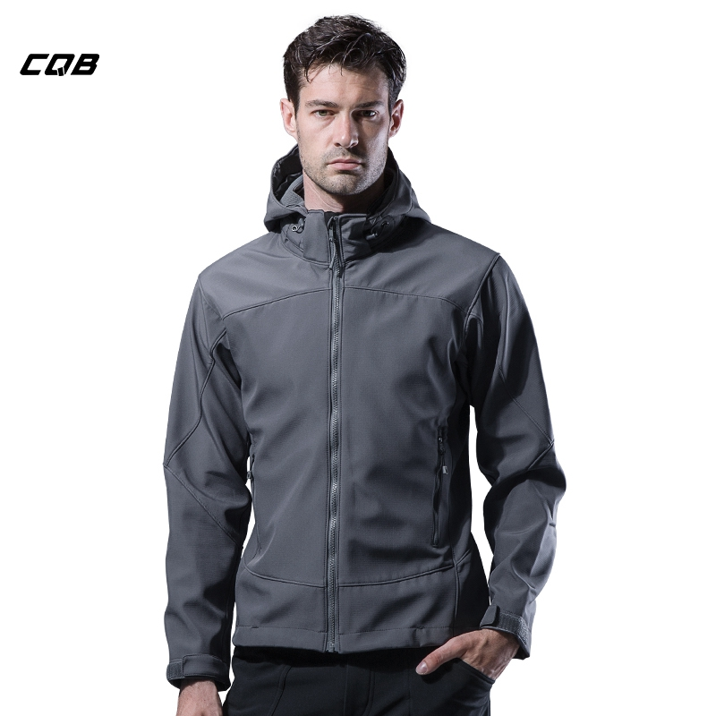 CQB Outdoor Sports Camping Tactical Military Men's Hiking Softshell Jackets Waterproof Climbing Winter Male Clothes Hunting Coat lightweight tactical softshell jacket outdoor sports clothing camping climbing hiking jackets waterproof coat for men