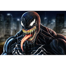 Diy diamond painting Venom--Deadly guardian Diamond Embroidery 5d pictures full mosaic,square Rhinestones Y0969