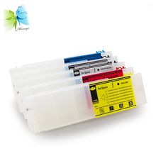 WINNERJET 1 комплект 1000 мл 5 цветов пустые перезаправляемые картриджа с микросхема автоматического сброса для Epson суреколор T3000 T5000 T7000 принтер
