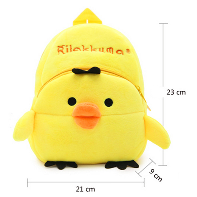 Children-Cute-Cartoon-Plush-Backpack-Stuffed-Animals-Plush-Kindergarten-Small-Bag-Schoolbag-4-Types-Animal-Shape-1