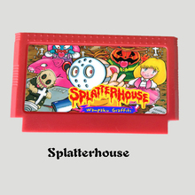 Splatterhouse 60 Pins Game Card For 8 Bit D99 Game Player