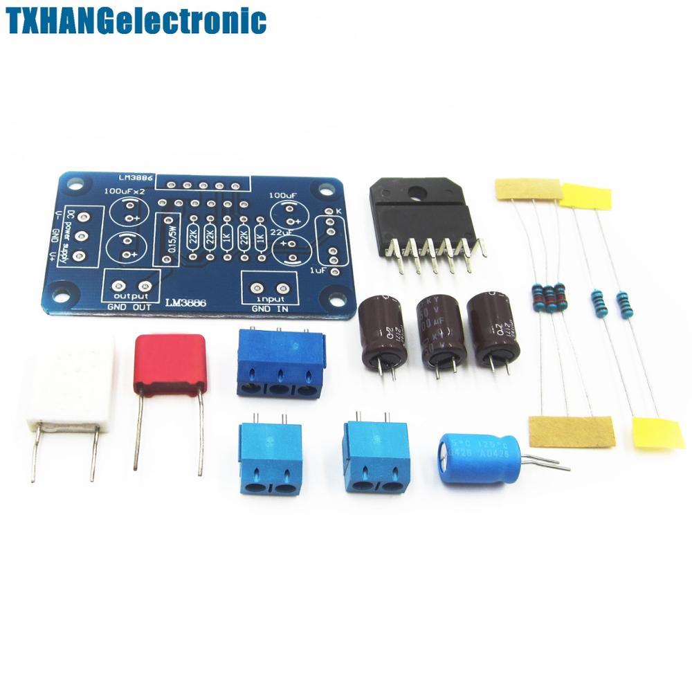 LM3886TF AC 20~28V 60W Sound Audio Amplifier Mono Digital Power AMP DIY Kit