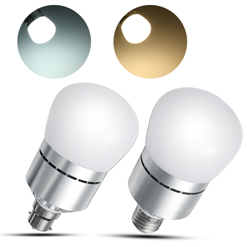 12W 2835 SMD LED Lamp Bulb E27/B22 Bayonet Dusk To Dawn Automatic On/Off LED Light Bulb Sensor Light Bulb For Porch AC85-265V
