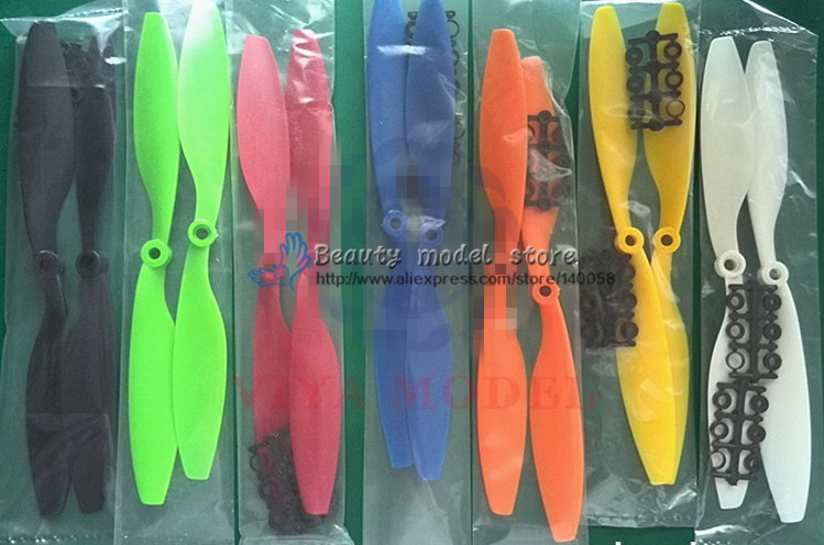 50Paris 1045 ABS propellers (CW/CCW) 400mm-550mm Wheelbase for DIY FPV drones quadcopter F450 F550 frame 2 pairs 4 pcs 1045 tri blades propellers cw ccw for diy multicopter drones multirotor quadcopter