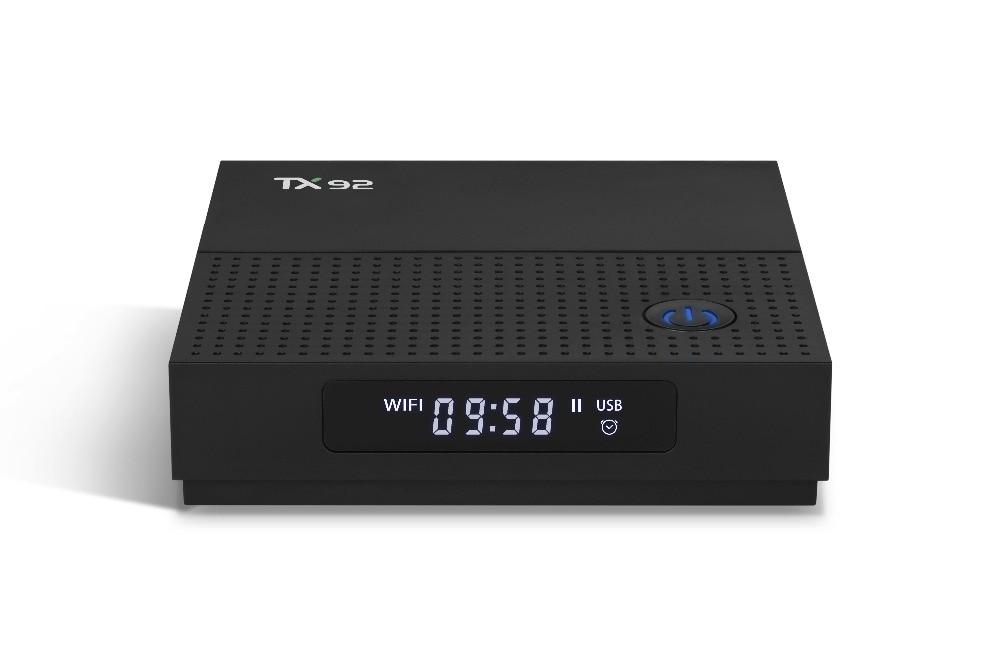 TX92 Smart TV Box Android 7.1 3gb 32gb Amlogic Octa-core S912 2.4G/5GHz Wifi Bluetooth 4.1 HDMI 2.0a USB 3.0 tv set top box
