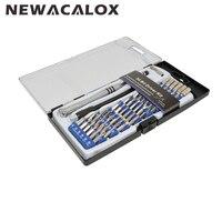 Reparação kit de ferramentas manuais 54 em 1 precisão magnética torx pentalobe chave de fenda para o telefone portátil assista óculos de sol|screwdriver magnetizer|tool policy|screwdriver tester -