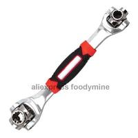 Tigre 48 em 1 Ferramentas Chave Soquete Funciona com Spline Parafusos Torx 360 Graus 6 Ponto Universial Carro Mobiliário reparação Acessórios de móveis     -