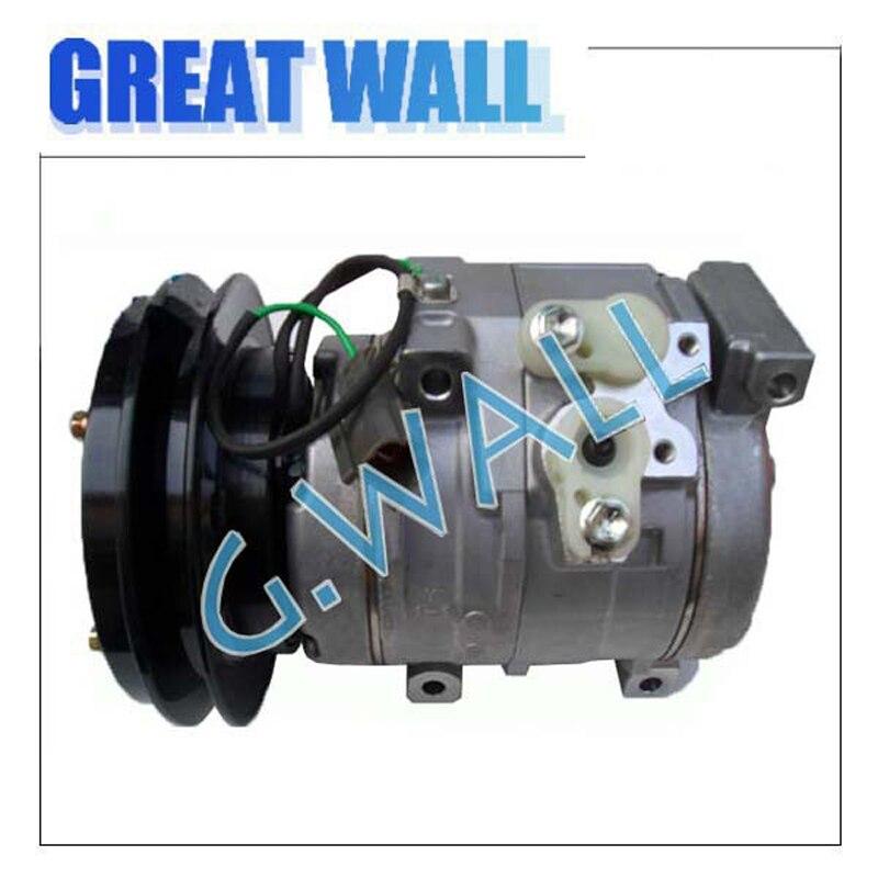 Brand new auto ac compressor for Komatsu Excavator 447260-8020 G.W.-10S15C-1PK-150