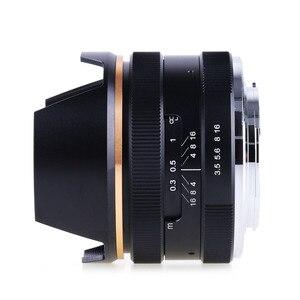 Image 3 - 14mm f/3.5 APS C ידני פוקוס ראש קבוע מצלמה עדשה עבור Sony E הר NEX3 3N 5 5T 5R מצלמה KAXINDA