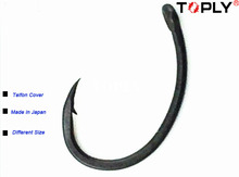 Free shipping Teflon coating carp hook Yn fishing hook for carp fishing