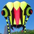 O envio gratuito de alta qualidade 7 metros quadrados trilobites macio kite linha ripstop tecido de náilon kite voando ao ar livre brinquedos kite barra saco