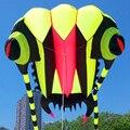 O envio gratuito de alta qualidade 7 metros quadrados trilobites suave linha de nylon ripstop tecido pipa pipa voando brinquedos ao ar livre bar pipa saco