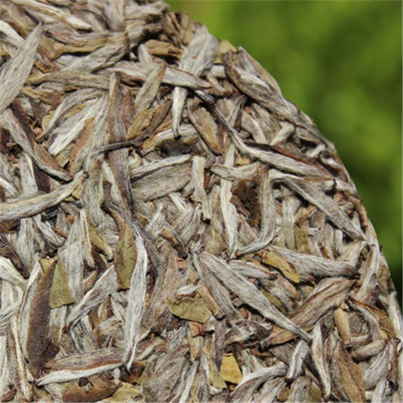 C-PE095 puer tea 300g Old Fuding white tea cake natural organic white tea silver needle for weight loss puer tea bag