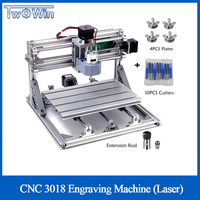 CNC 3018 with ER11 Collet DIY Mini CNC Engraving Machine Laser Engraving PCB PVC Milling Machine Wood Router Best Advanced Tools