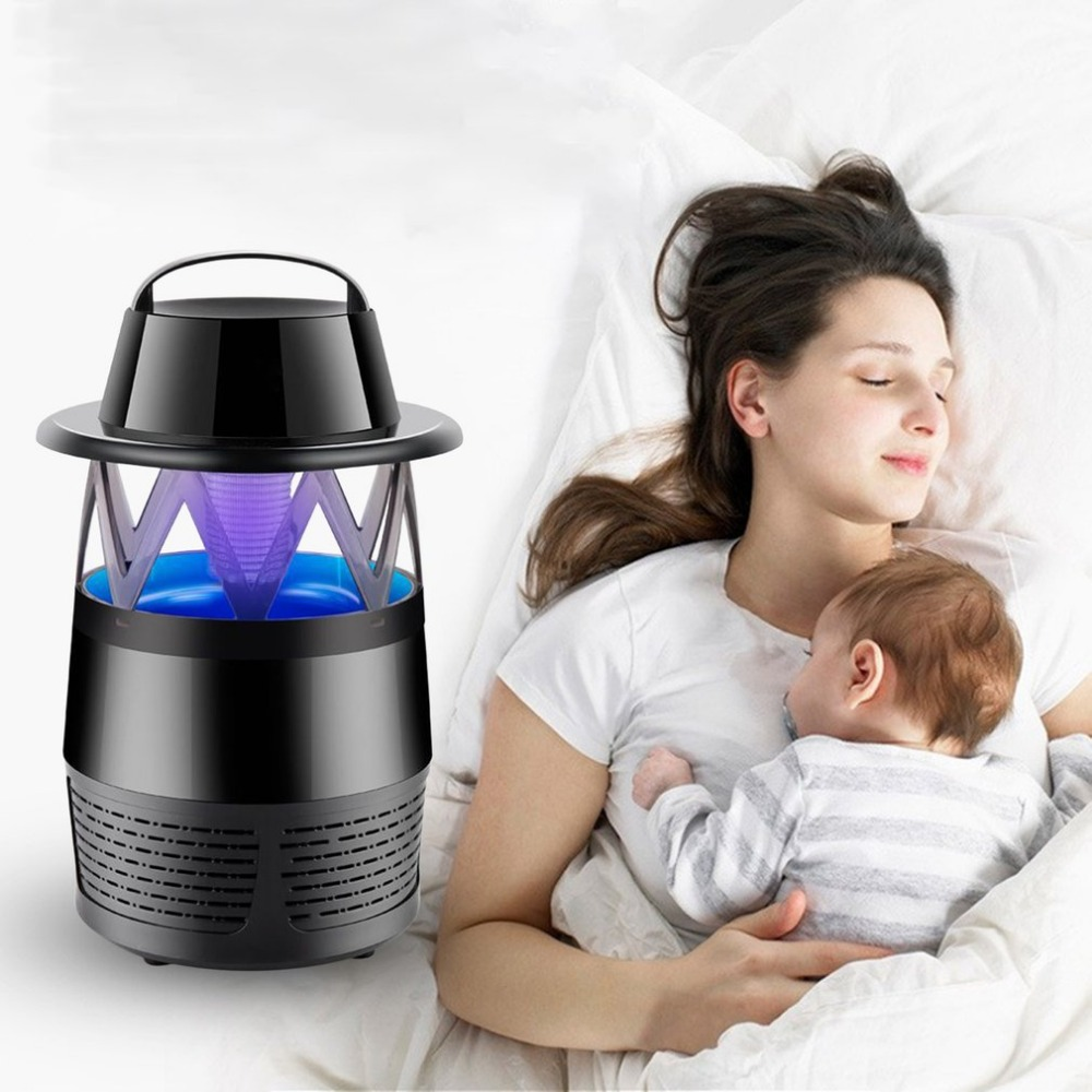 Mosquito Killer Lamp Electronic Bug Zapper Light No Radiation USB Power LED Mosquito Repellent for Indoor Outdoor