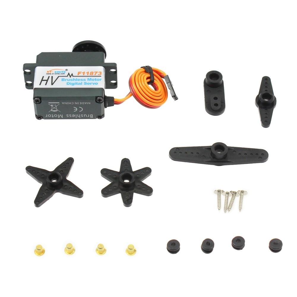 F11873 XT XINTE 20Kg Metal Gear Digital Servos High Torque Wide Angle Waterproof Brushless Servos
