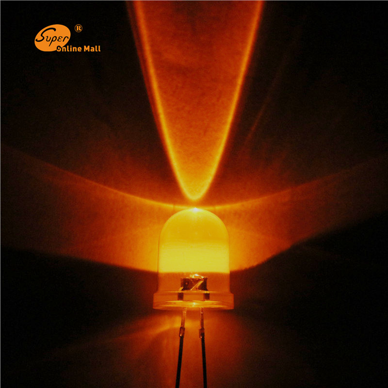 Mr16 Led Orange: Aliexpress.com : Buy 1000PCS LED 10mm LED Orange LEDS