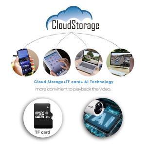 Image 5 - Zjuxin 1080P WIFI 옥외 사진기 당신의 가정 안전을위한 1920*1080 무선 IP 사진기 iCSee P2P 3.6mm 렌즈