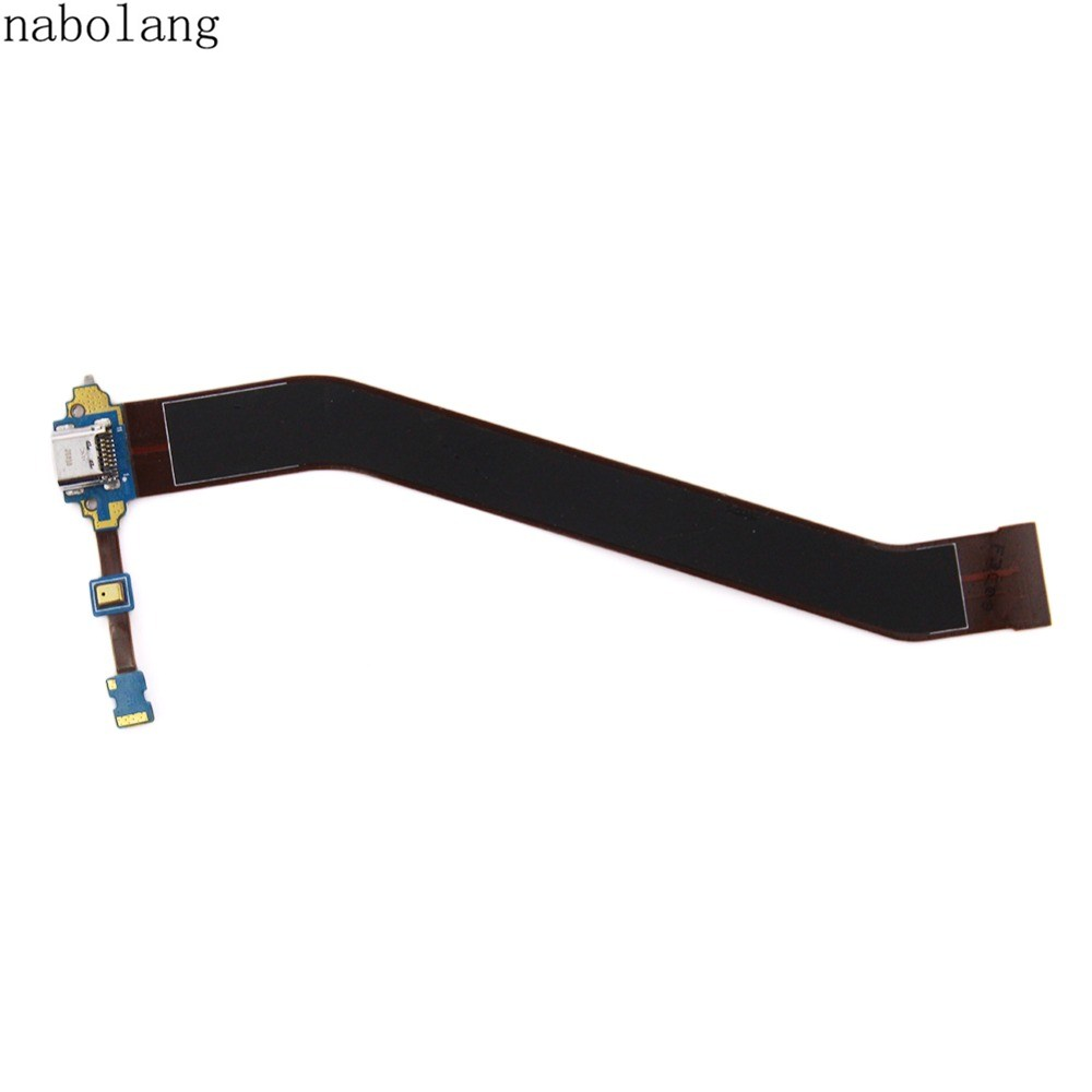 Nabolang New USB Charger Dock Connector Charging Port Flex Cable For Samsung Galaxy Tab 3 10.1 P5200 P5210 GT-P5200 GT-P5210 micro usb charging port charger dock for lenovo yoga tablet b8080 plug connector flex cable board replacement