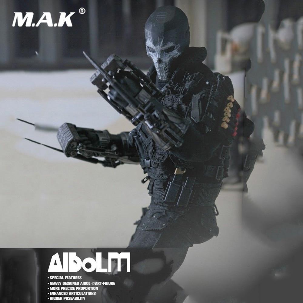 1/6 AIDOL 3 ensemble complet figurine d'action (Ai-3) USA Anime croix os corps tête vêtements arme modèle jouets pour Fans Collection cadeau