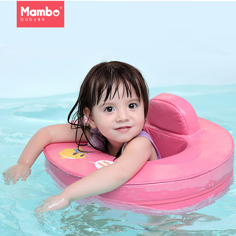 Gonflable Solide pas besoin pompe bébé enfants anneau de bain siège flotter Nager Formateur Accessoires pour piscine jouet anneau pour bébé