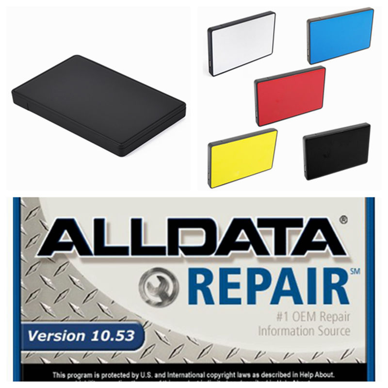 2019 Auto Repair Alldata Software V10.53+mitchell On Demand 5 Software 2015 Vivid 1tb Usb 3.0 Hard Disk All Data Free Shipping