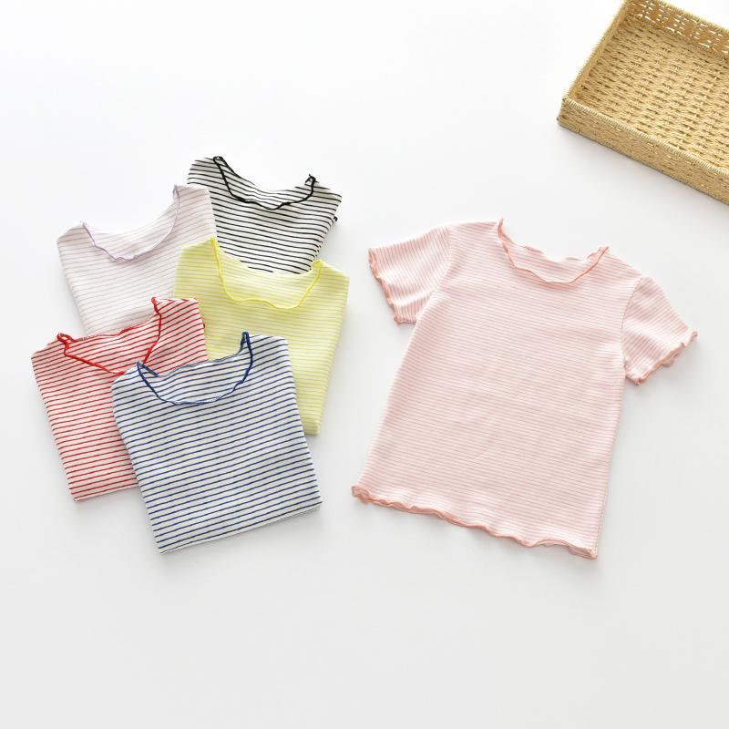 4d799d9bcdd2 Μπλουζάκια για κορίτσια 2018 Νέο καλοκαίρι Παιδικά παπούτσια Παιδικά ...