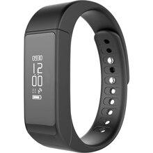 "YUNTAB i5 plus 0.91""Touch Screen smart watch Original Wristband Bluetooth 4.0 Sleep Monitor Bracelet Mini Active Tracker(Black)"
