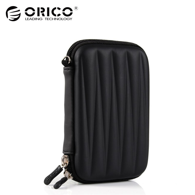 ORICO PHL-25-BK 2.5 2.5 Inch Protection Bag for External Portable HDD Box Case-Black orico dhu3b bk usb3 0 to dvi hdmi external graphics for 6 computer screen extention black