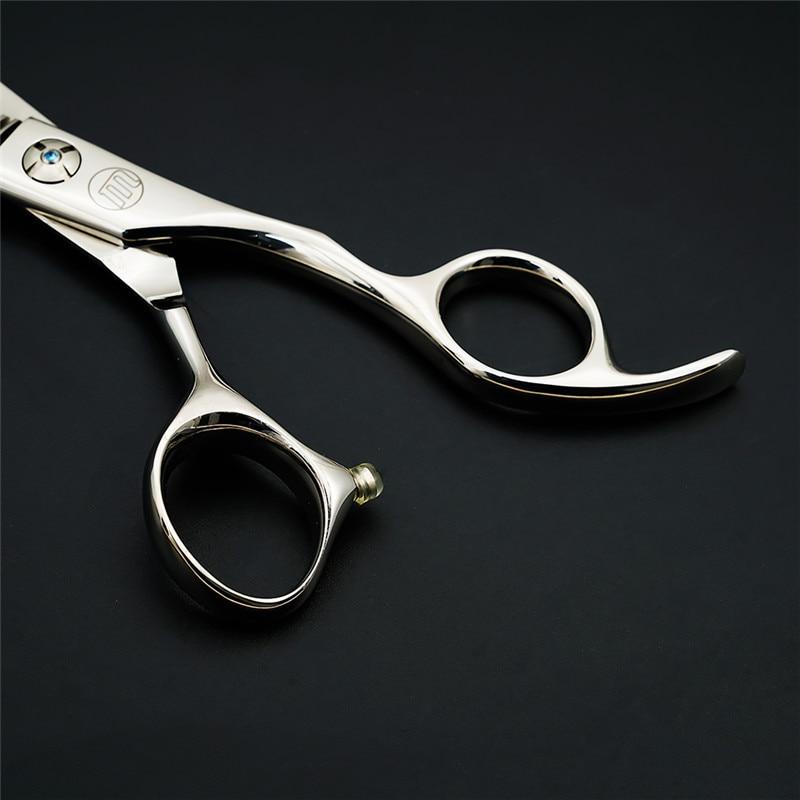 Купить с кэшбэком Moontay Hair Scissors 6.0 inch Hair Thinning Scissors Hairdressing Supplies Sharp Teeth Scissors for Thin Out Barber Tools