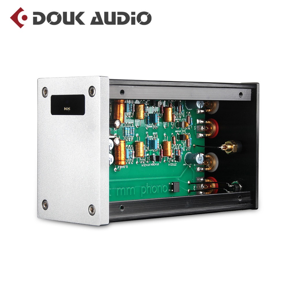 Douk audio High End MM Phono Turntable Preamplifier Single-Ended Class A Stereo Preamp Inspired By UK NAIM Nait 2 Circuit