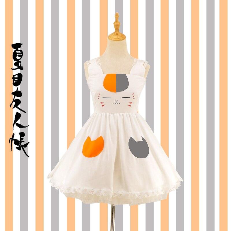 Nyanko-sense Natsume Yuujinchou Lolita chat uniformes Costume de Cosplay livraison gratuite