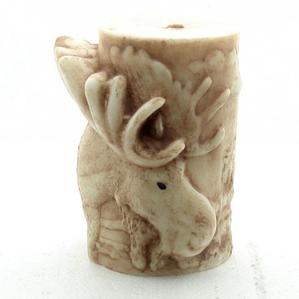 Grainrain 3D свечи силиконовые формы мыло формы Лось поделки ручной работы ремесло воск глины Смола плесень