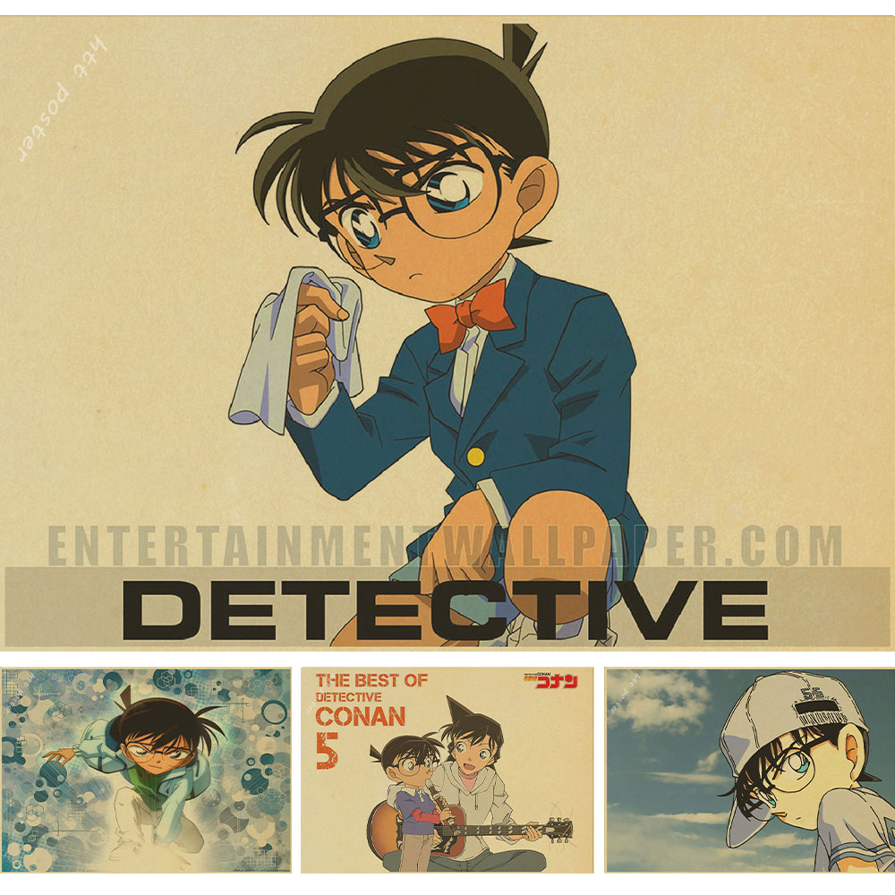 Online Shop Detective Conan Japanese famous cartoon posters Home ...