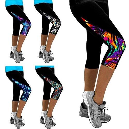 Más Nuevas mujeres triángulo moda paneled adelgazando Pantalones Leggings  Pantalones a98b71dda25e