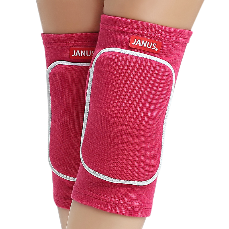 JANUS Women Girls Knee Pads Dancing Yoga Basketball Volleyball EVA Knee Pads Boys Patella Guard Protector Extreme Sports kneepad