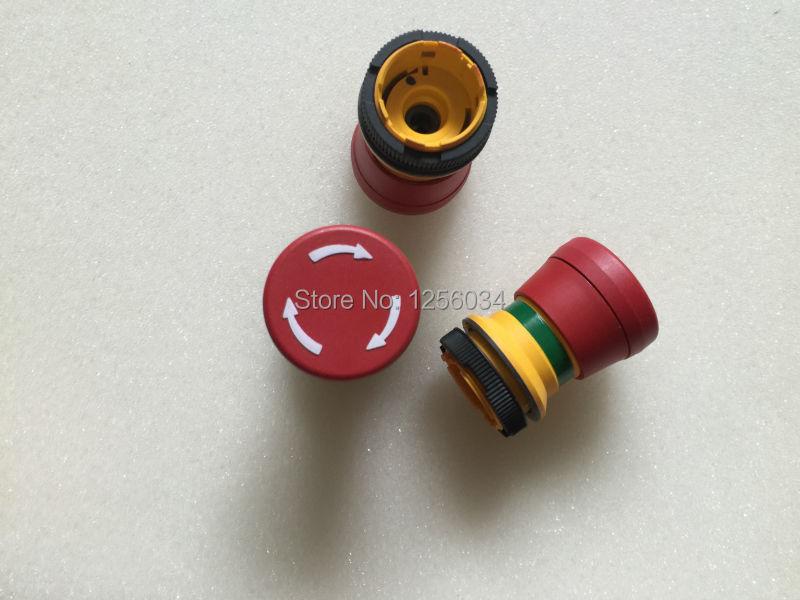 2 pieces heidelberg printing press parts CD102 SM74 SM52 emergency stop switch for heidelberg A1.144.9129 original