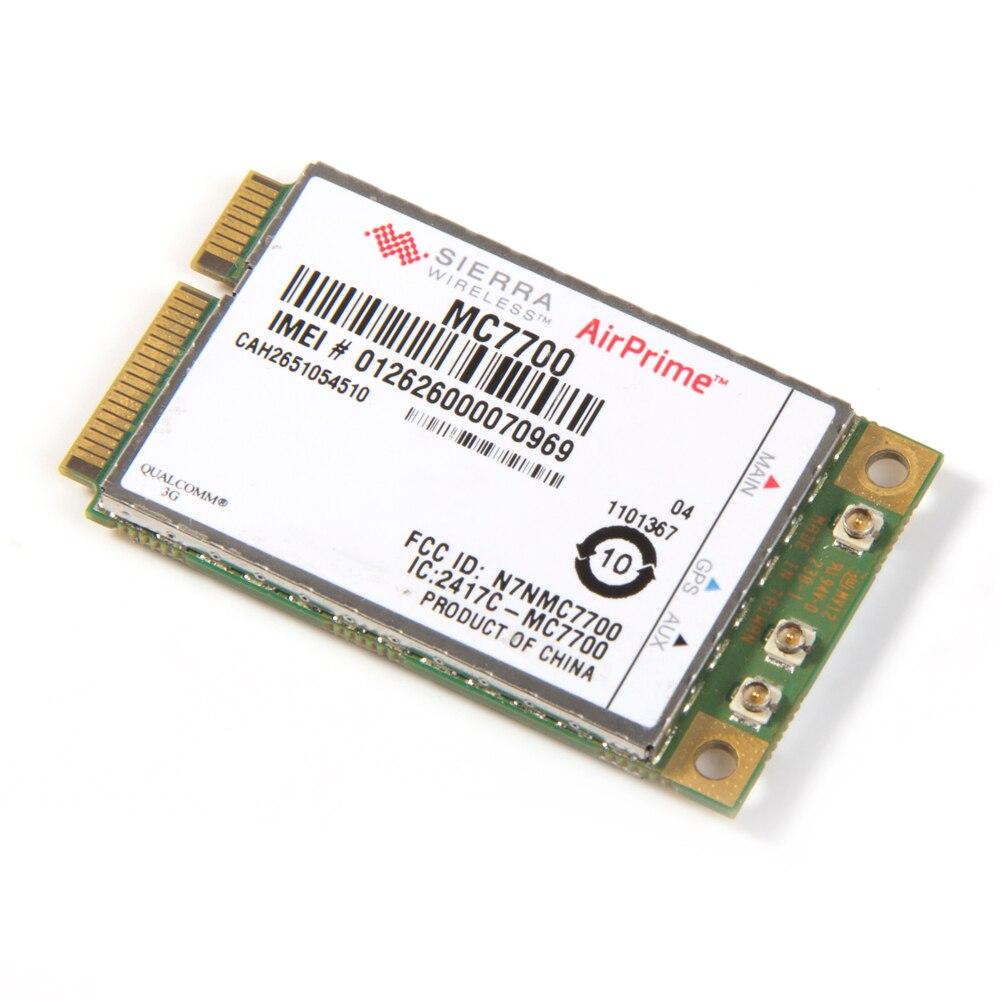 Odblokowany Sierra MC7700 bezprzewodowy moduł GPS 3G WWAN 3G HSPA LTE 100 mb/s WWAN karta pci-e GPS do laptopa notebooki Tablet