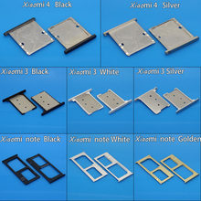 sim card slot for xiaomi note SIM Tray Sim Card Holder Slot xiaomi redmi note sim card slot for xiaomi 4 for xiaomi 3(China)