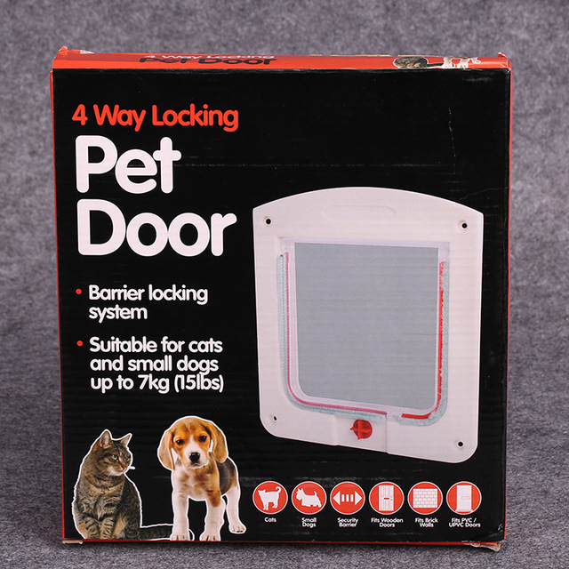 Extreme Weather Energy Efficient Pet Doorwhite For Dogs And Cats