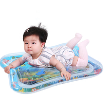 Baby Kids Water Play Mat Toys Inflatable Thicken PVC Toddler Activity Center For Gifts