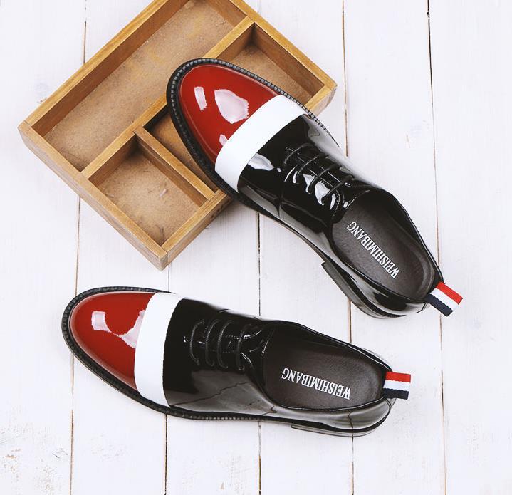 Basses Assorties Loisirs 2018 Hommes Été Nouveau Britannique Avec Sort Chaussures De Sharp Oxford Marée hrQCdts
