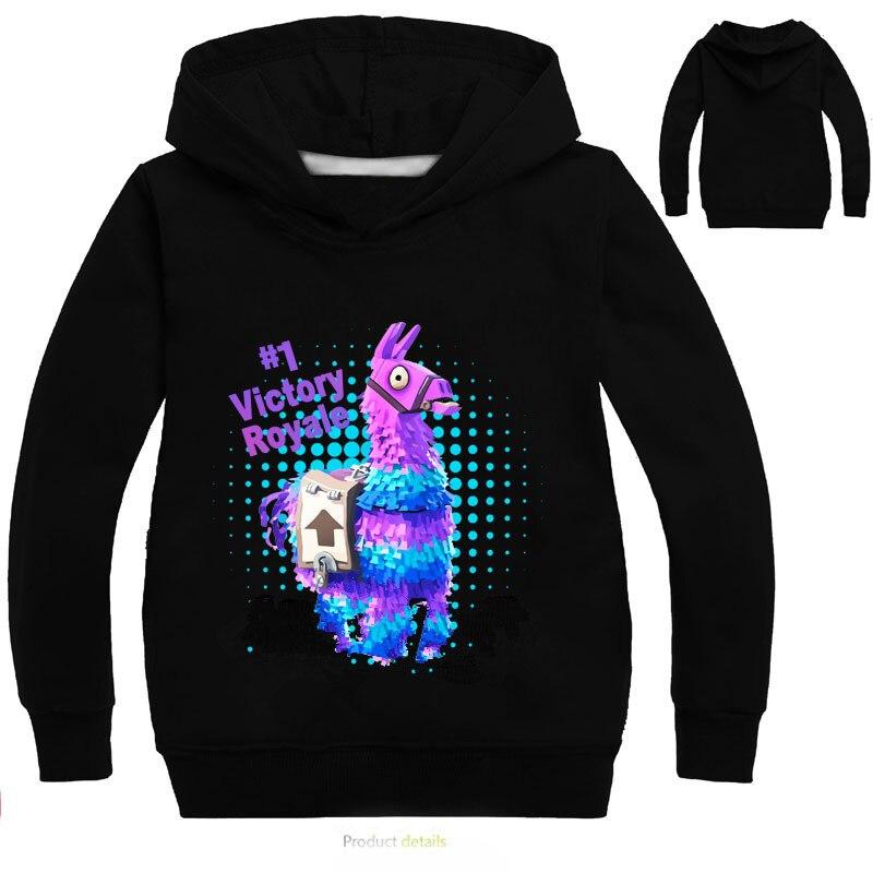 Schlacht Royale 3D Jungen Mädchen Hoodies Spiel Regenbogen Zerschlagen Pony Pferd Sweatshirt Mit Kapuze Casual Streetwear T-shirts Herbst Tuch