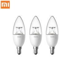 Orijinal Xiao mi akıllı Mum Şekli LED LAMBA E14 AMPUL ışık 3.5W 0.1A 220 240V 50/60 hz Wifi Uzaktan Kumanda mi ev App D5