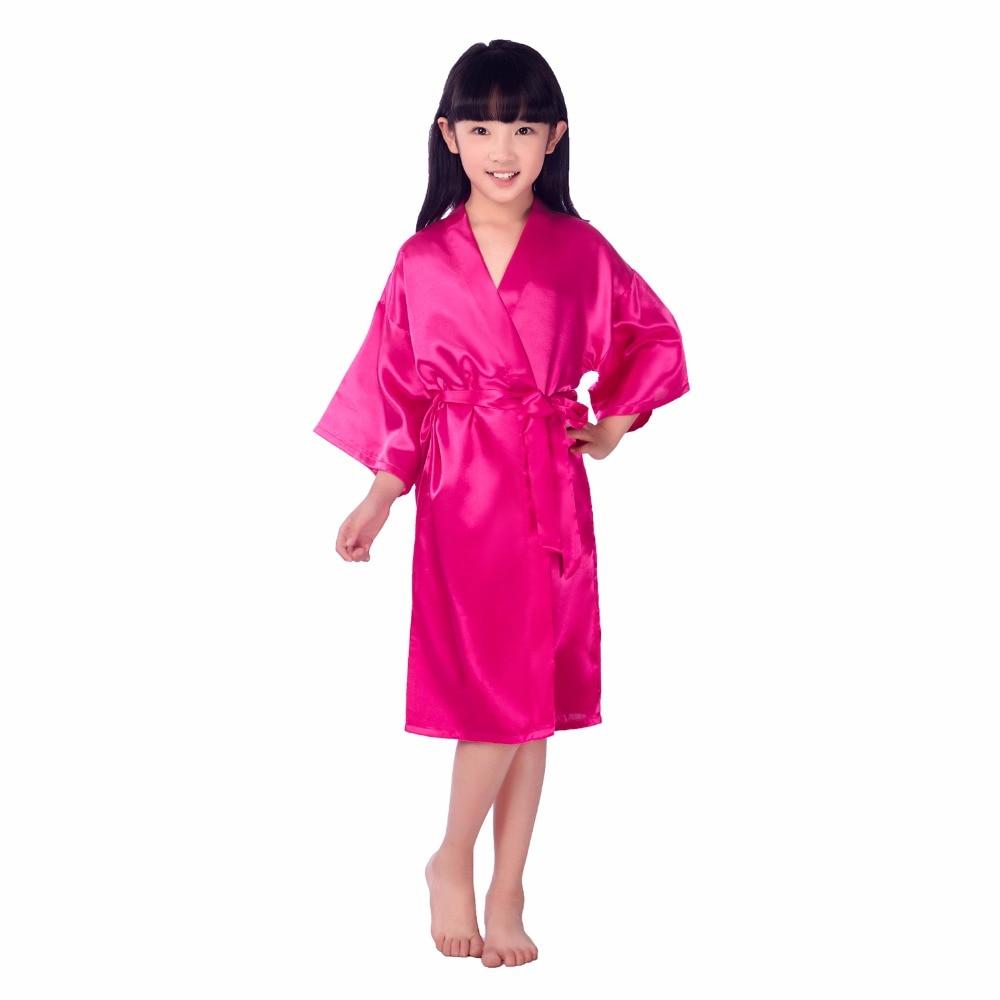 ჱCenturyestar bebé niños niñas seda de raso kimono trajes verano ...